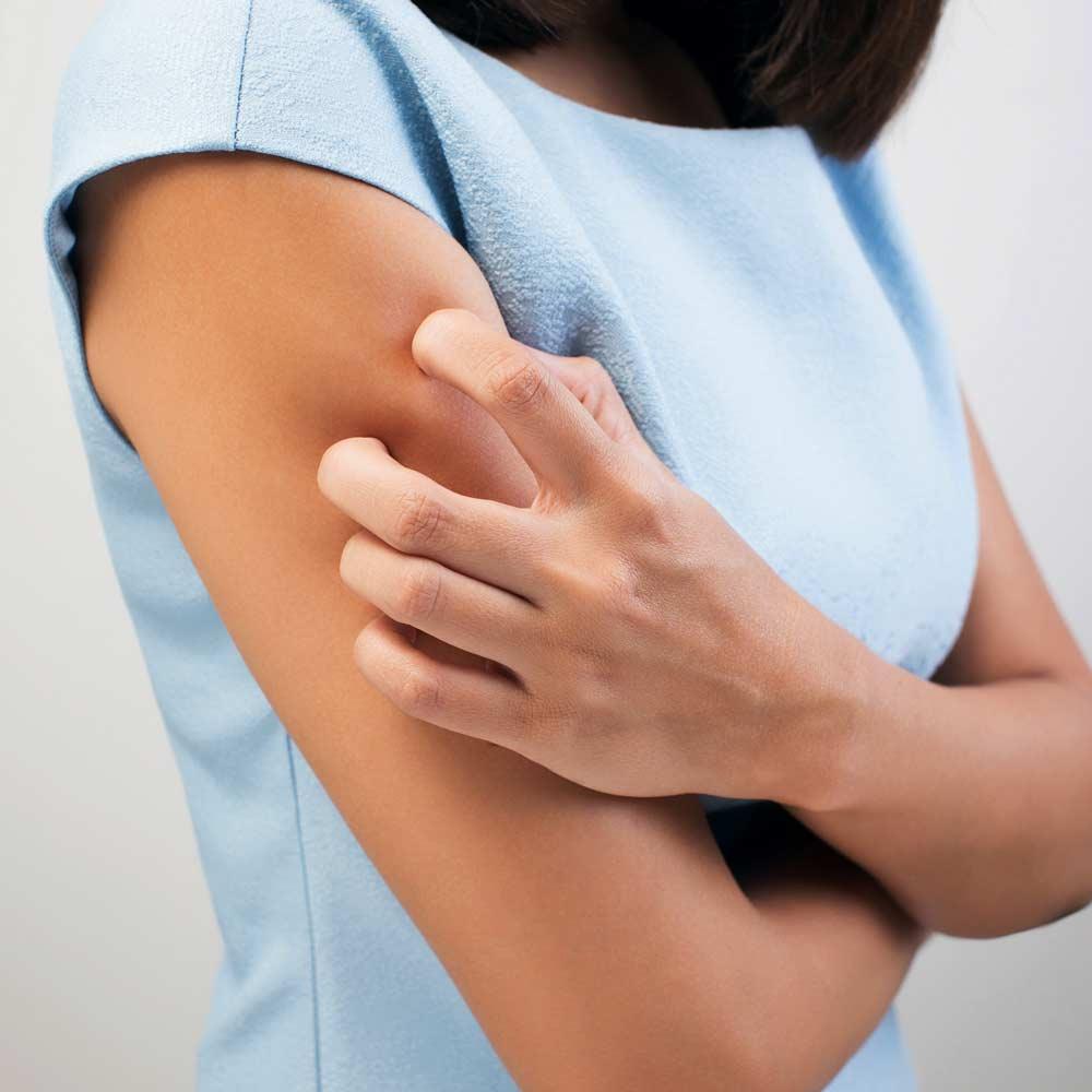 Die Barriereschicht der Haut