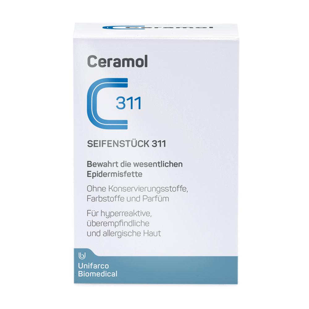 Das Seifenstück 311 von Ceramol bei Care4Skin